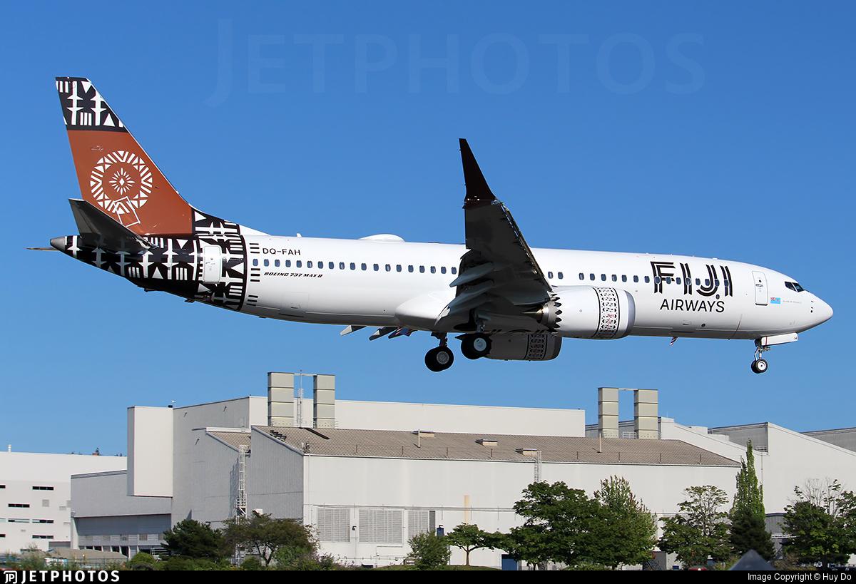 DQ-FAH - Boeing 737-8 MAX - Fiji Airways