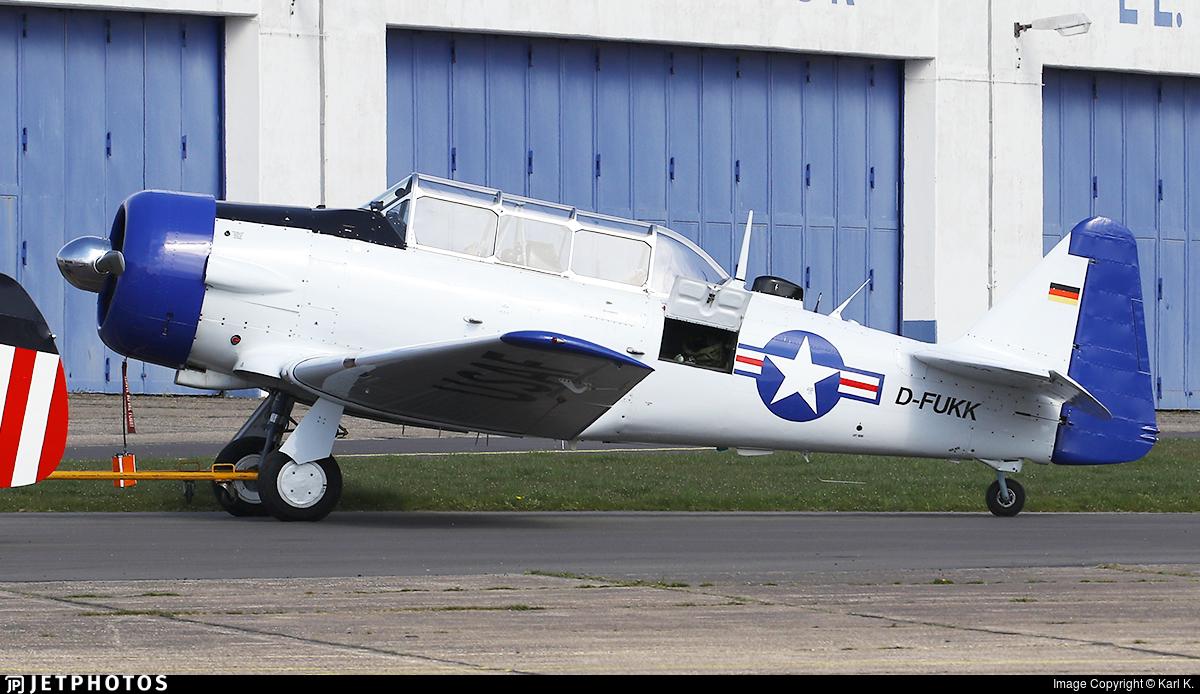 D-FUKK - Canadian Car and Foundry Harvard Mk.IV - Private