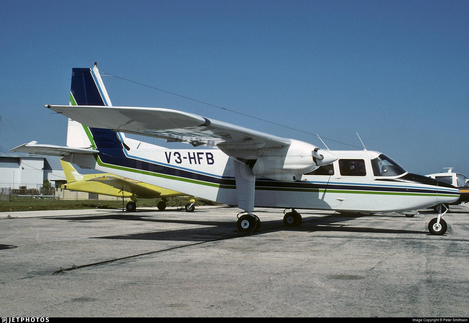 V3-HFB - Britten-Norman BN-2B-21 Islander - Britten-Norman Aircraft
