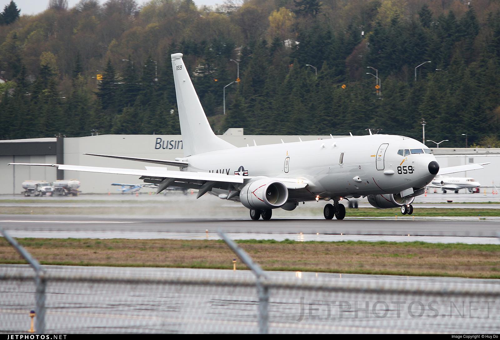 168859 - Boeing P-8A Poseidon - United States - US Navy (USN)