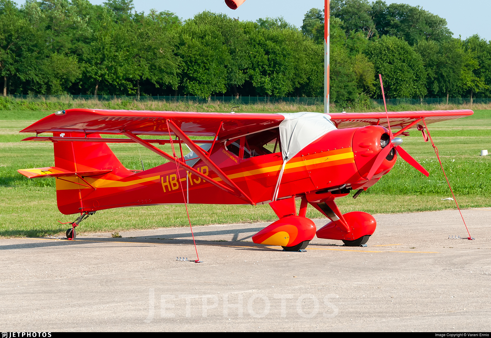 HB-YJP - Denney Kitfox IV-1200 Speedster - Private