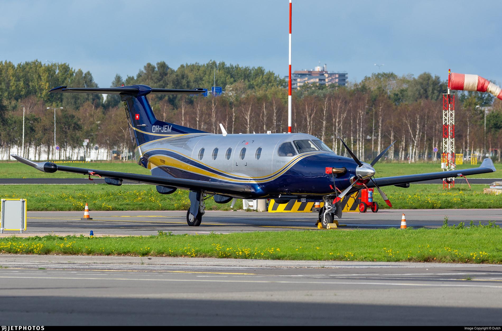 OH-JEM - Pilatus PC-12/47E - Fly 7 Executive Aviation