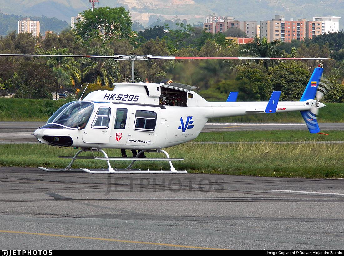 HK-5295 - Bell 206L-1 LongRanger II - AVE (Aviación Especializada)
