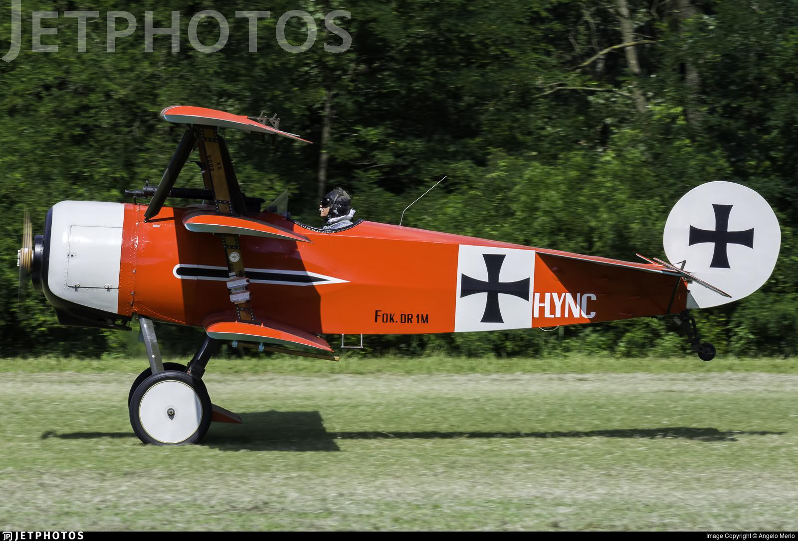 I-LYNC - Fokker DR.1 - Private