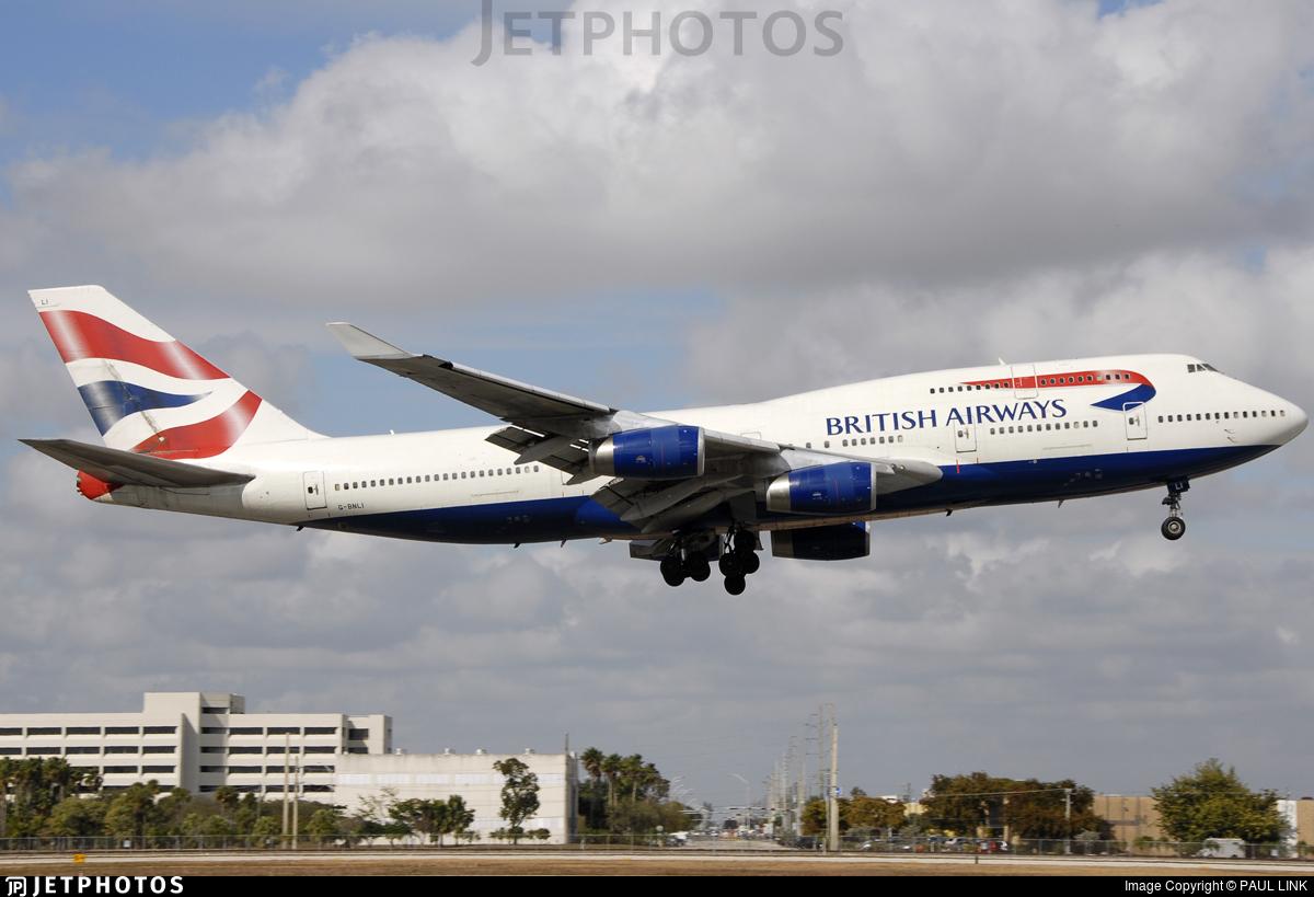 G-BNLI - Boeing 747-436 - British Airways