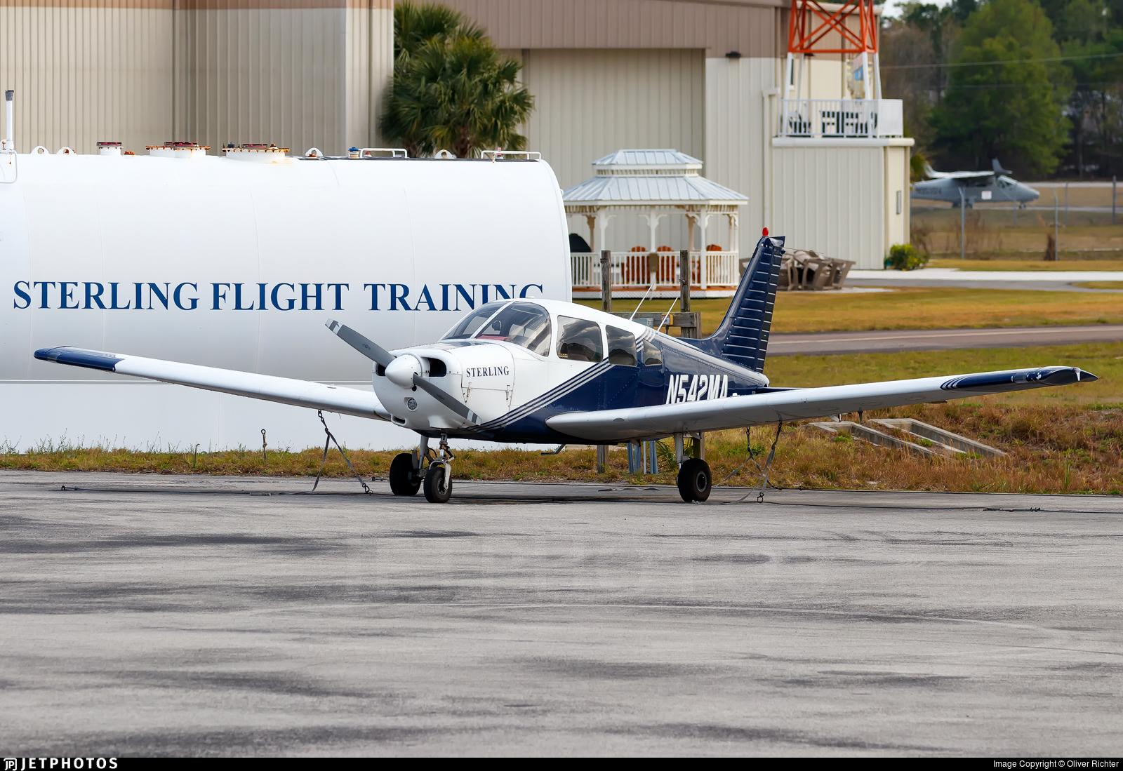 N542MA - Piper PA-28-161 Cherokee Warrior II - Sterling Flight Training