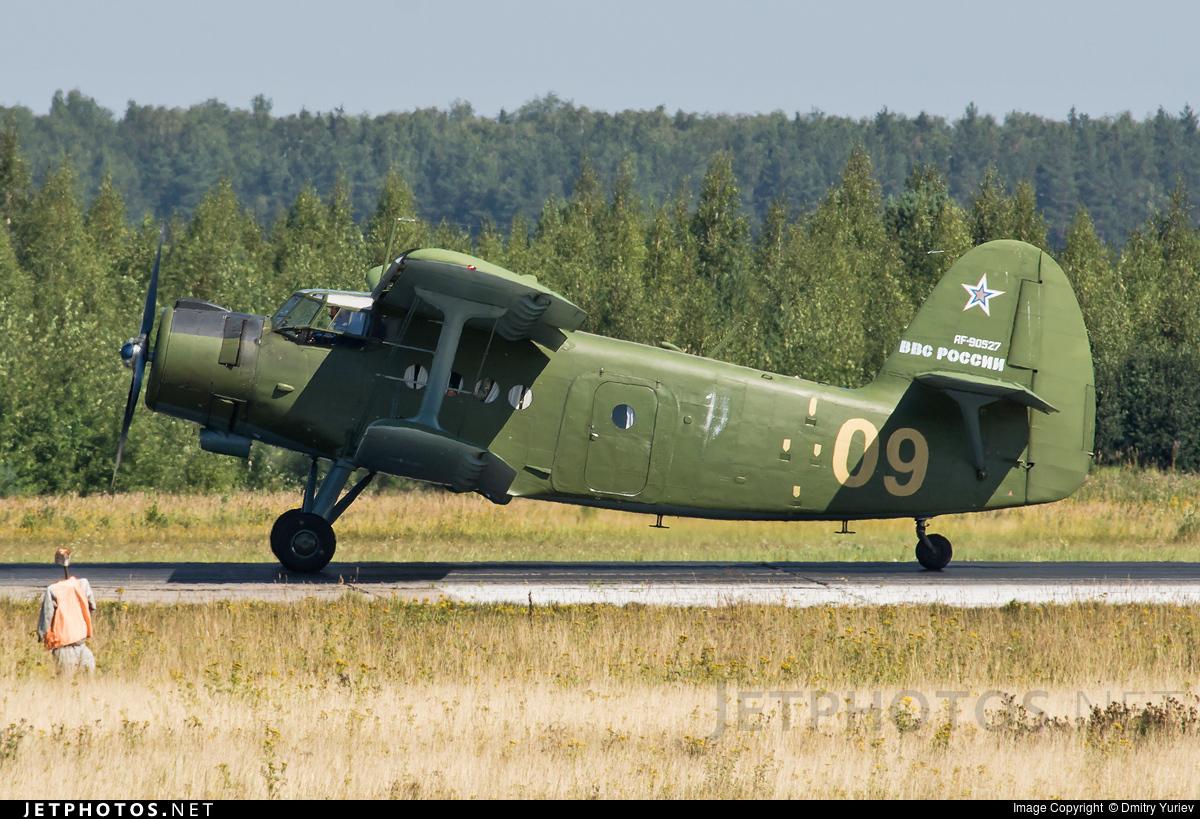 RF-90527 - Antonov An-2T - Russia - Air Force