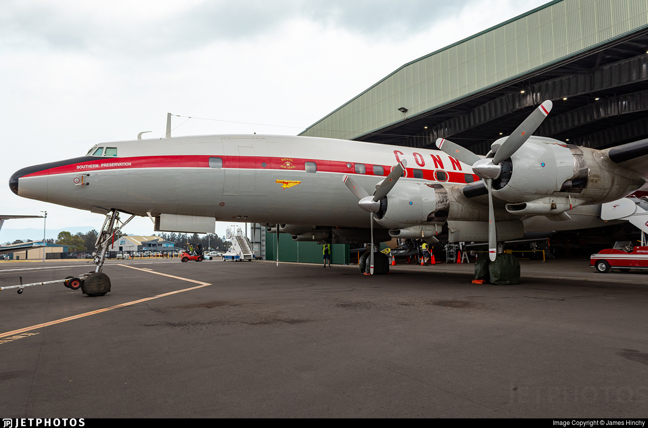 VH-EAG - Lockheed C-121C Super Constellation - Historical Aircraft Restoration Society (HARS)