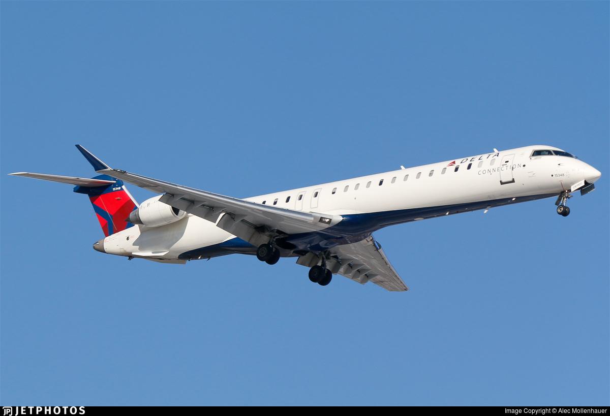 N348PQ - Bombardier CRJ-900LR - Delta Connection (Endeavor Air)