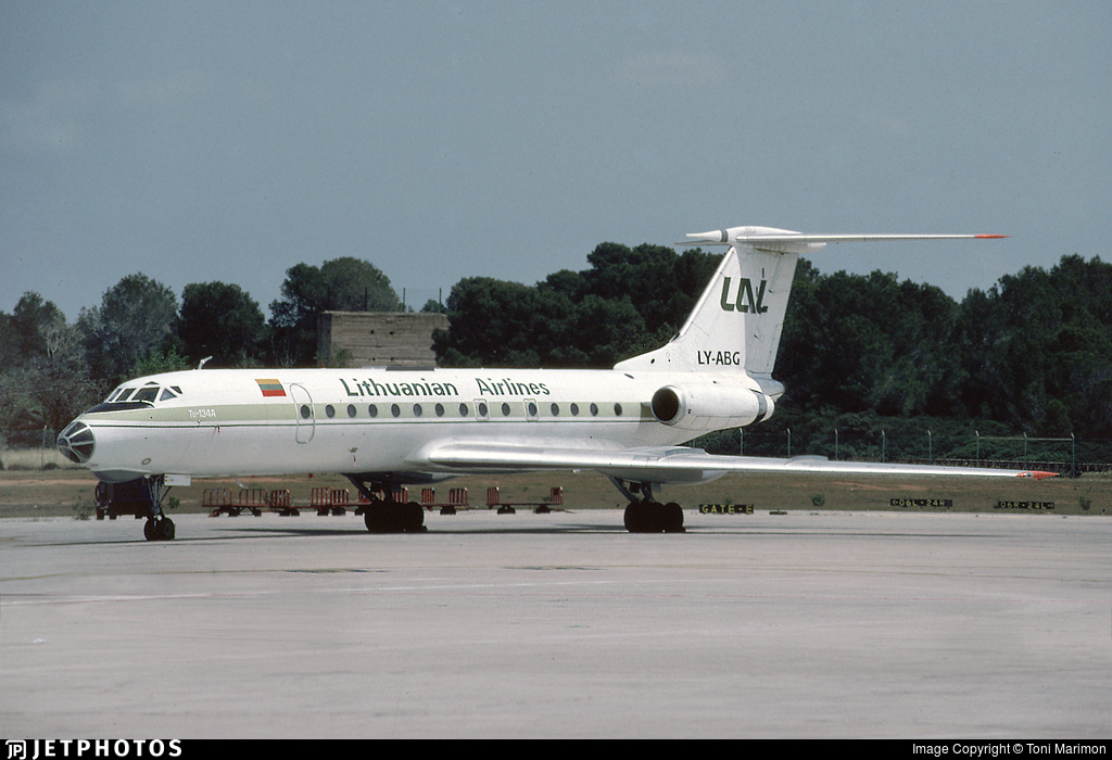 LY-ABG - Tupolev Tu-134A-3 - Lithuanian Airlines