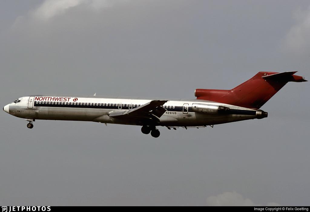 N261US - Boeing 727-251 - Northwest Airlines
