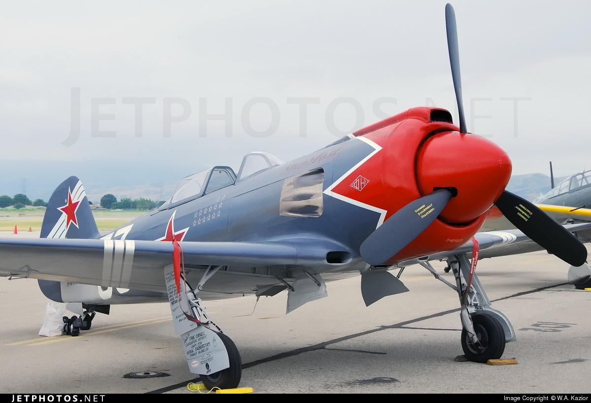 N46463 - Yakovlev Yak-3 - Private