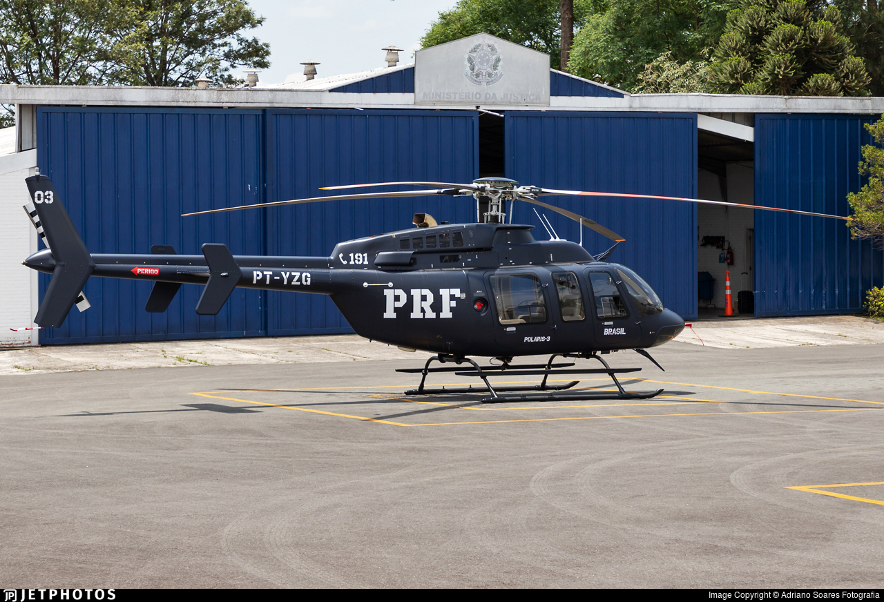 PT-YZG - Bell 407 - Brazil - Highways Federal Police