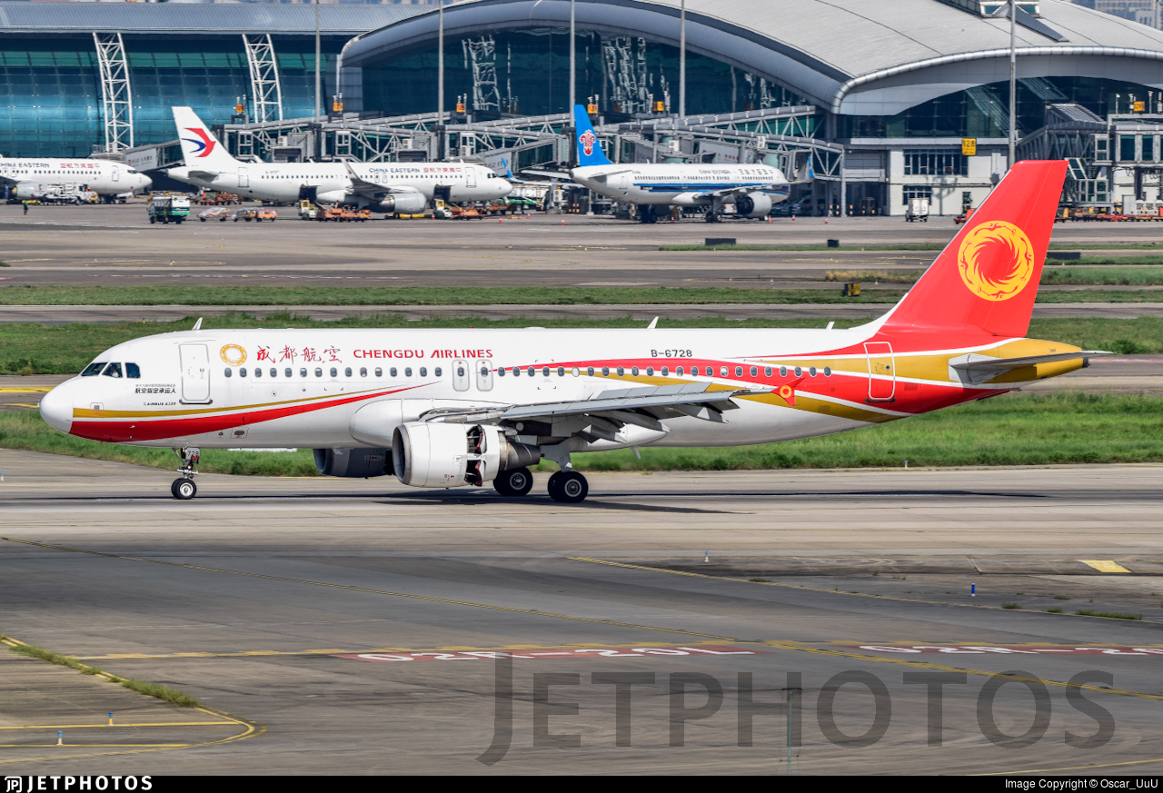 B-6728 - Airbus A320-214 - Chengdu Airlines