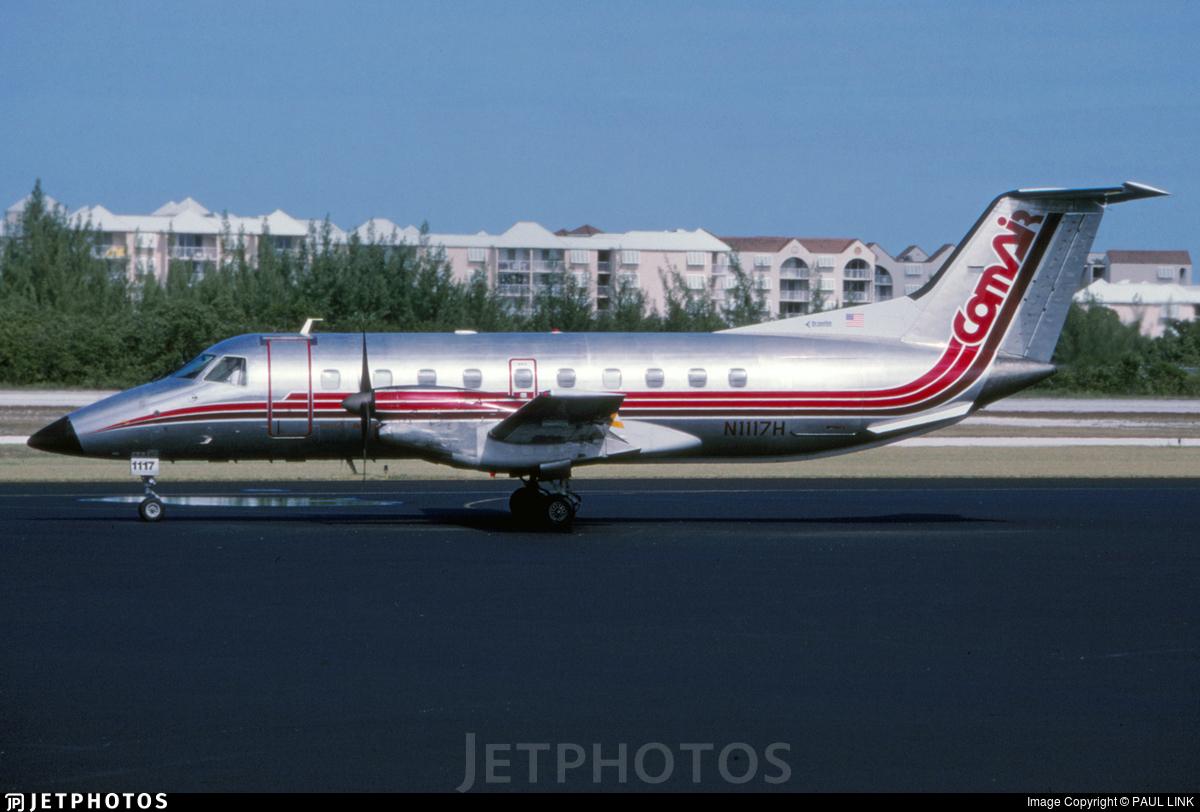 N1117H - Embraer EMB-120RT Brasília - Comair