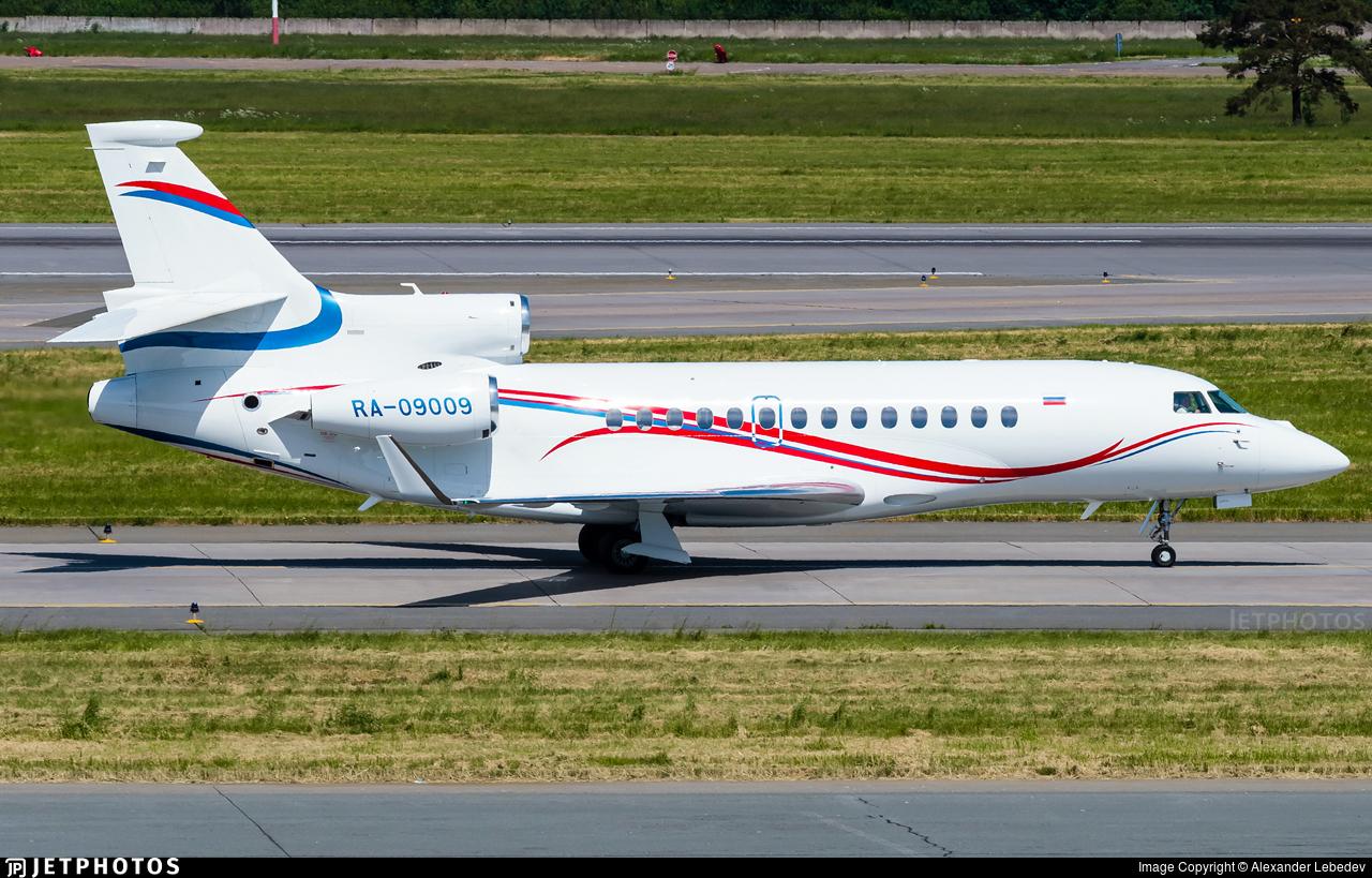 RA-09009 - Dassault Falcon 7X - Gazpromavia