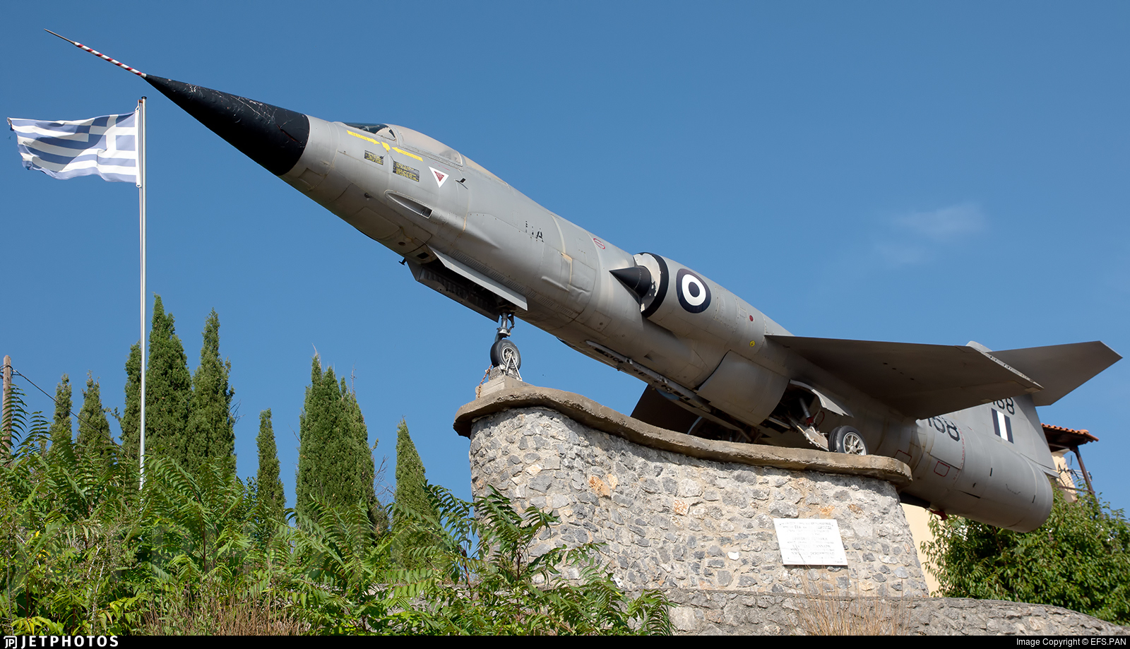 7168 - Lockheed F-104G Starfighter - Greece - Air Force