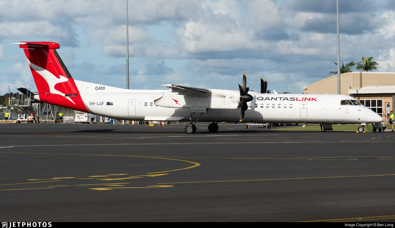 VH-LQF - Bombardier Dash 8-Q402 - QantasLink (Sunstate Airlines)