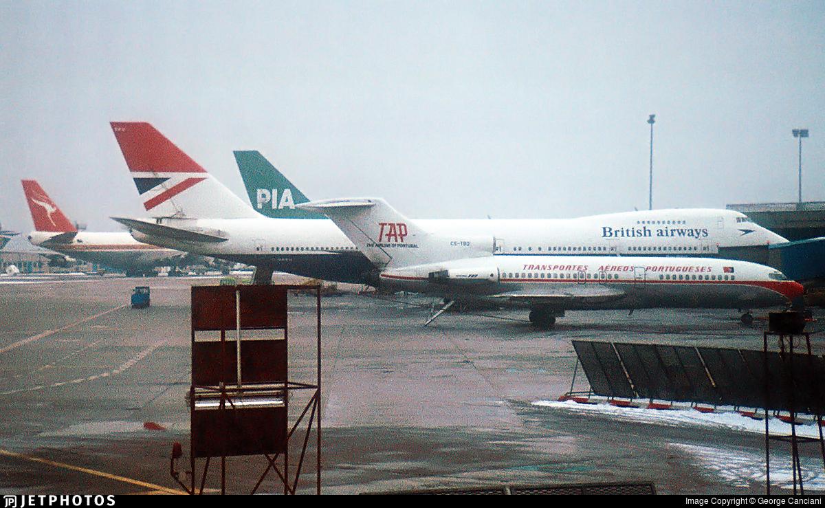 CS-TBQ - Boeing 727-172C - TAP - Transportes Aéreos Portugueses