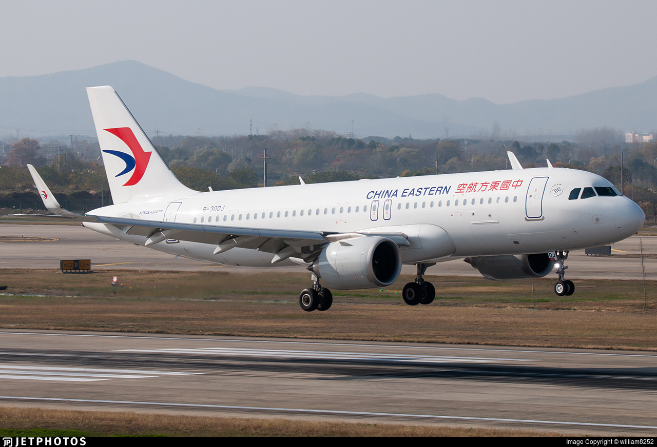 B-30DJ - Airbus A320-251N - China Eastern Airlines