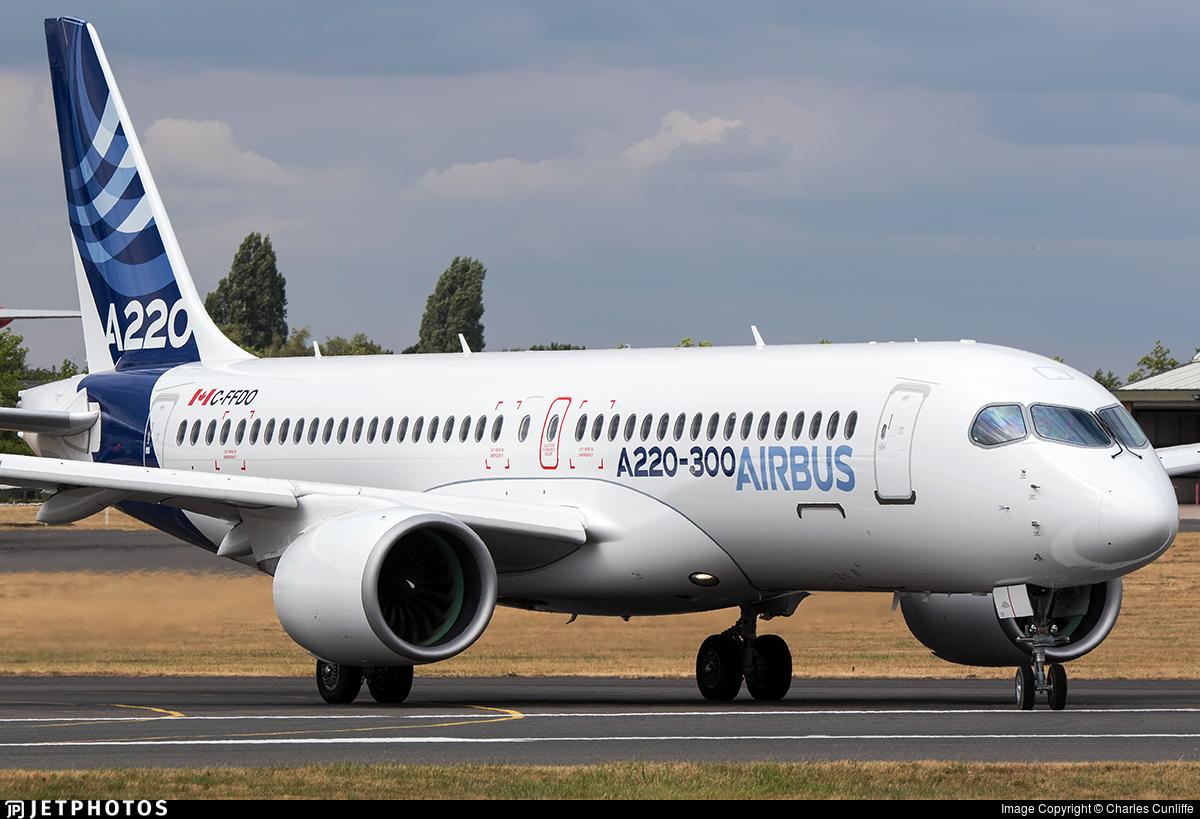 C-FFDO - Airbus A220-371 - Airbus Industrie