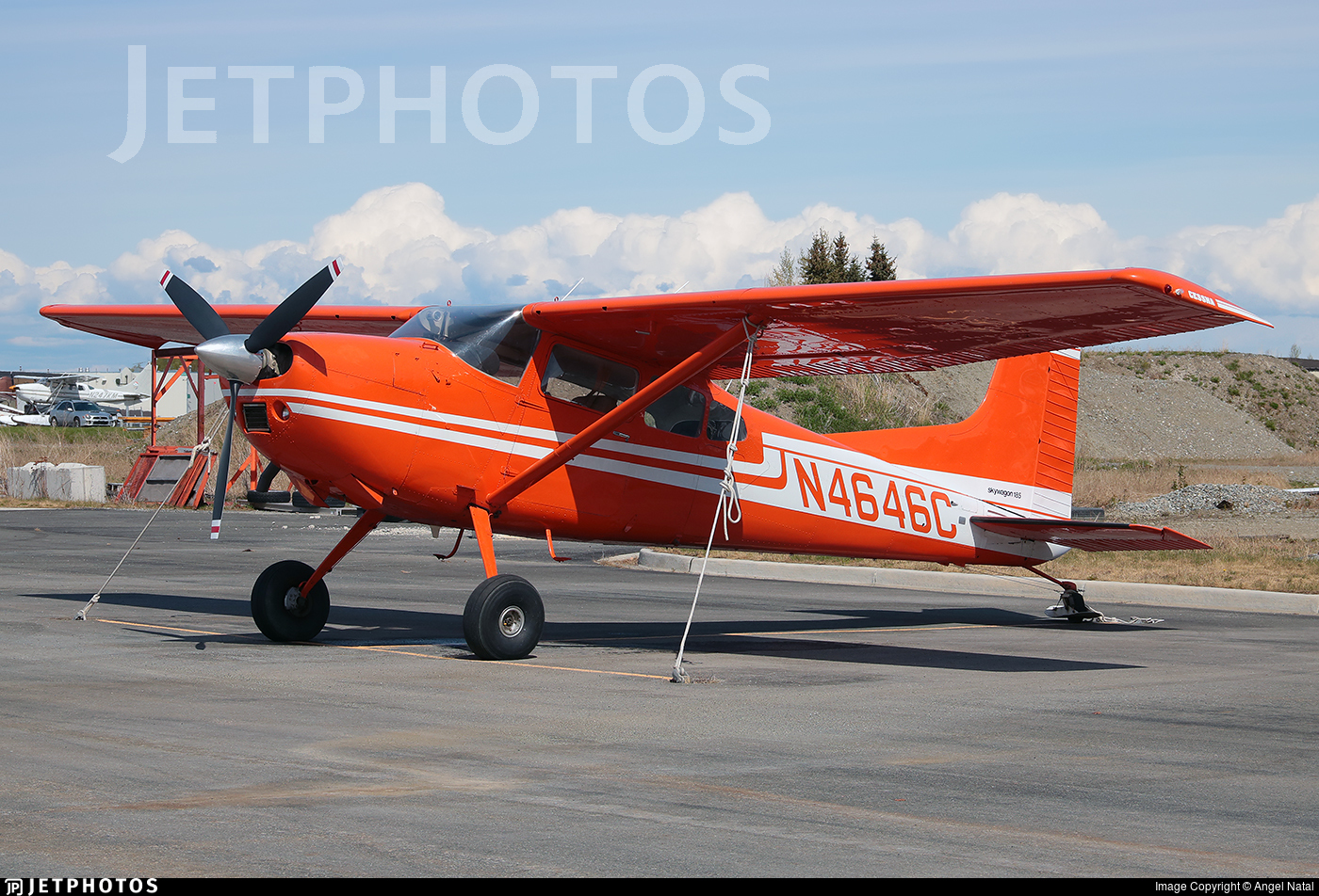 N4646C - Cessna A185F Skywagon - Private