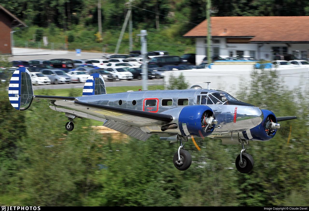 N223CM - Beech D18S - Private