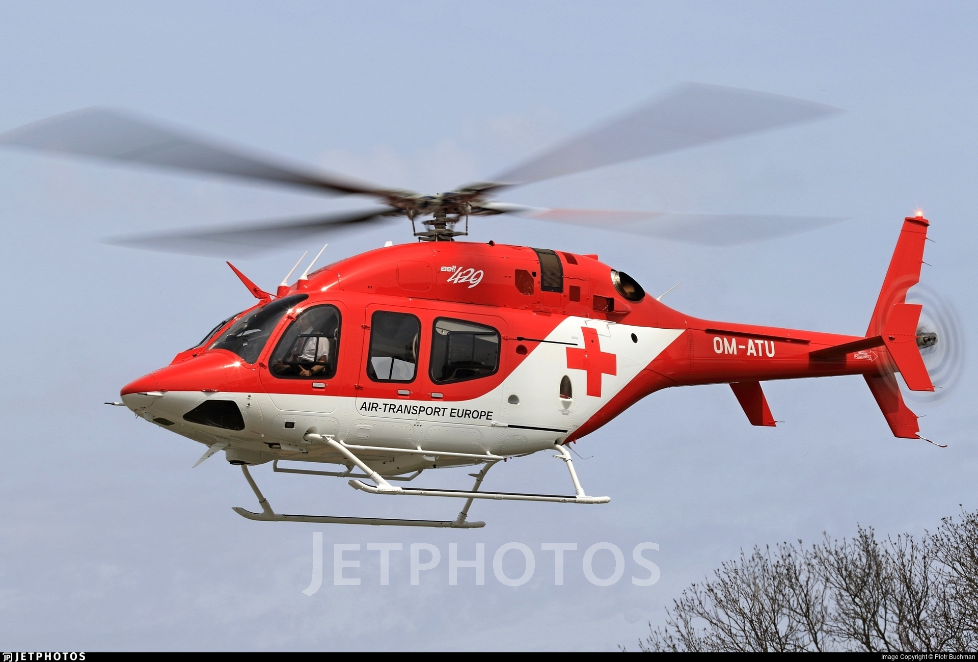 OM-ATU - Bell 429 Global Ranger - Air Transport Europe (ATE)