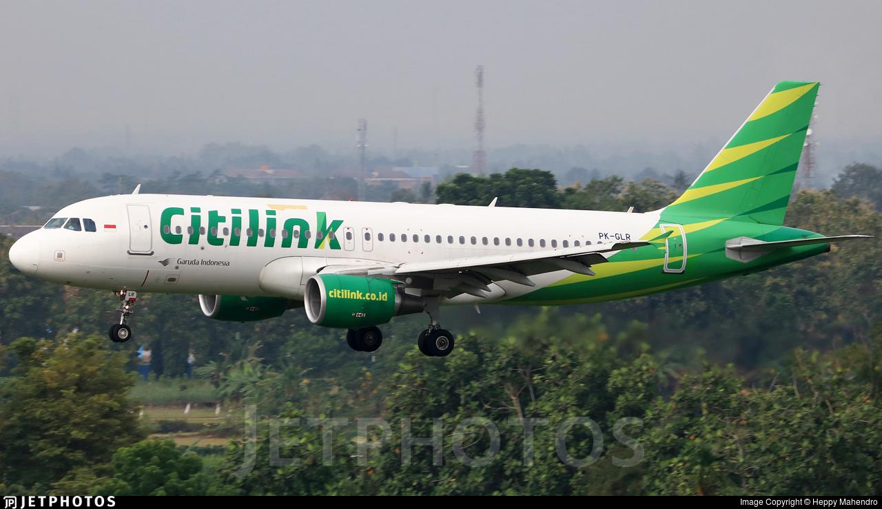 PK-GLR - Airbus A320-214 - Citilink
