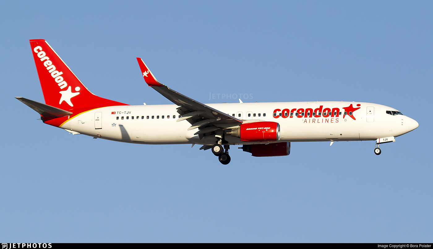 TC-TJV - Boeing 737-86J - Corendon Airlines