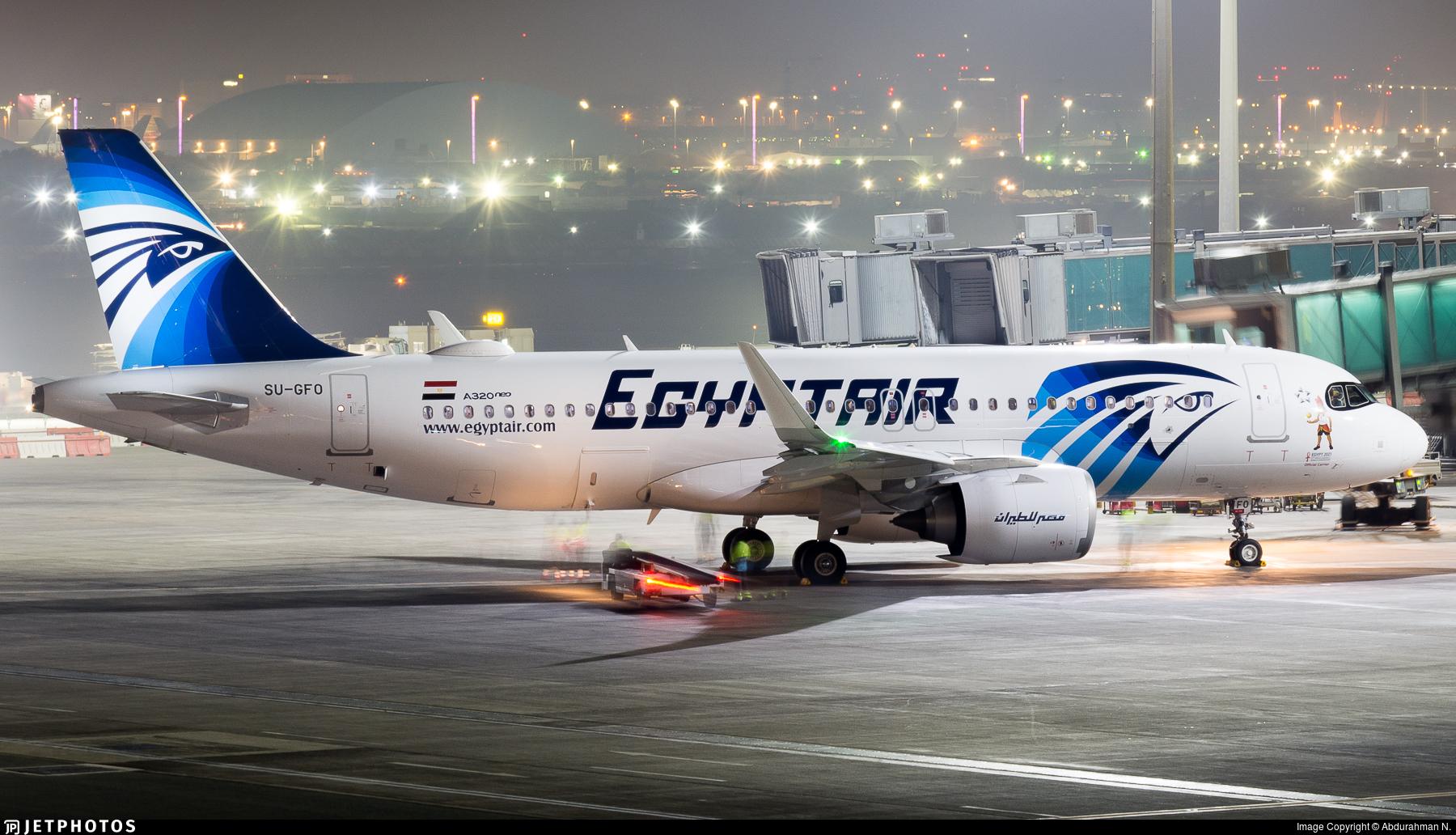 SU-GFO - Airbus A320-251N - EgyptAir