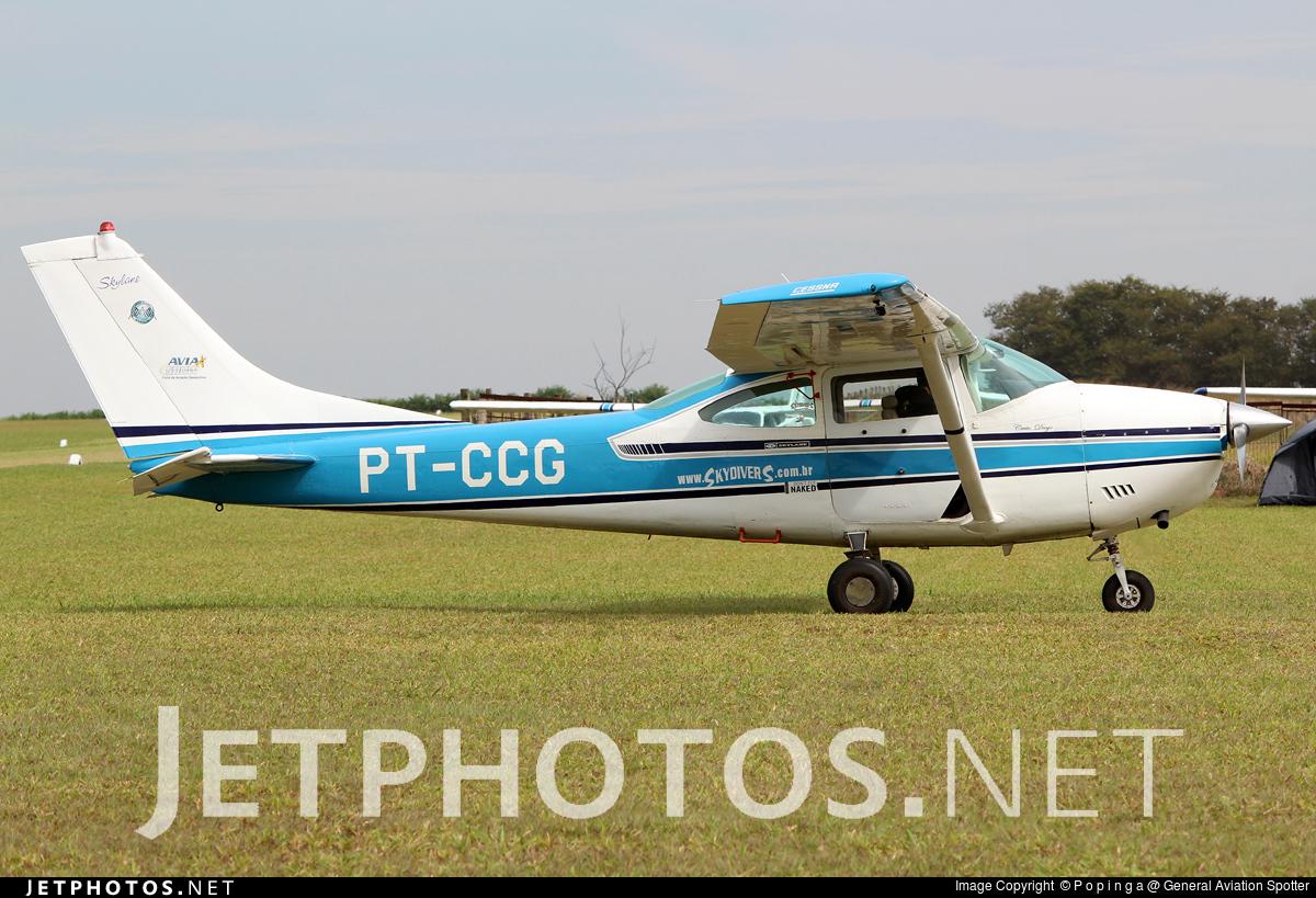PT-CCG - Cessna 182G Skylane - Private
