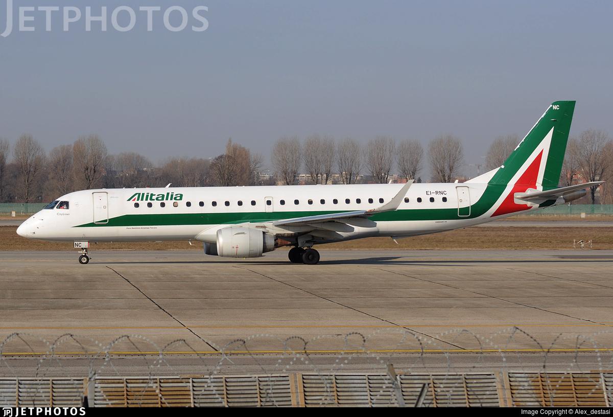 EI-RNC - Embraer 190-100LR - Alitalia CityLiner