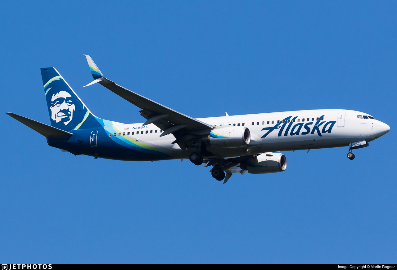 N556AS - Boeing 737-890 - Alaska Airlines