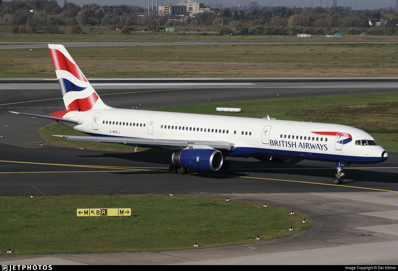 G-BPEJ - Boeing 757-236 - British Airways