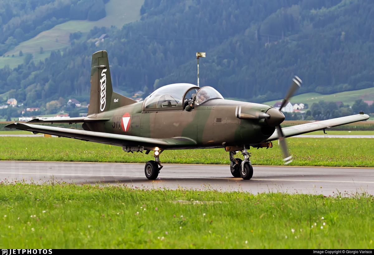 3H-FB - Pilatus PC-7 - Austria - Air Force