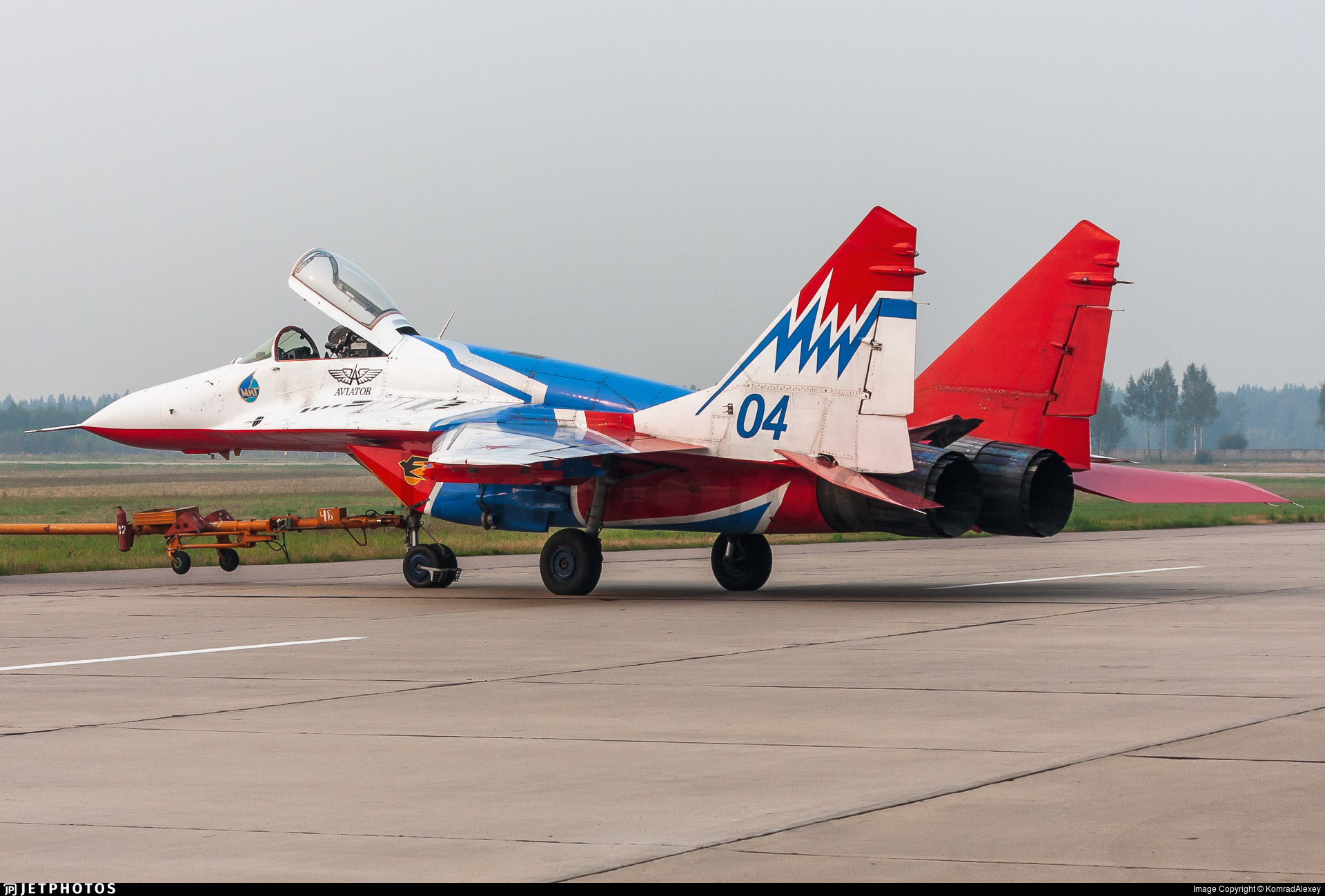 04 - Mikoyan-Gurevich MiG-29S Fulcrum C - Russia - Air Force