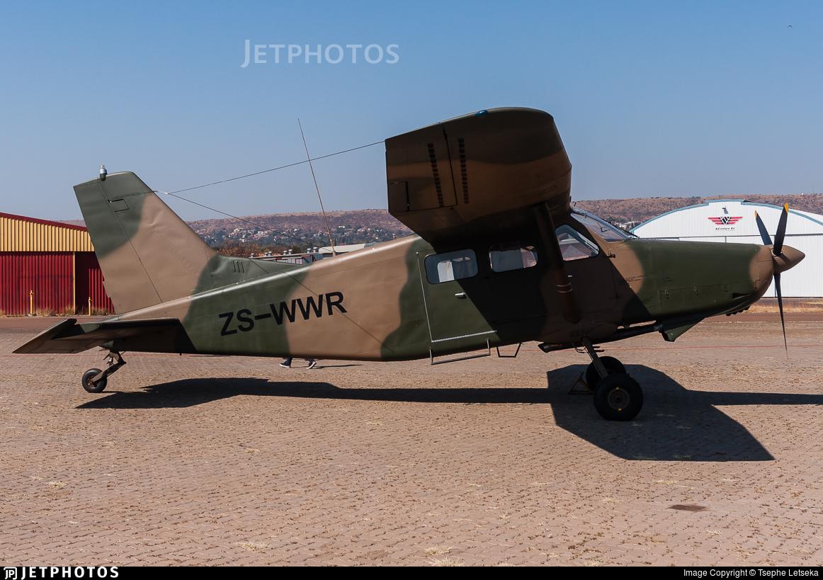ZS-WWR - Atlas AL-60C-4M Kudu - Private