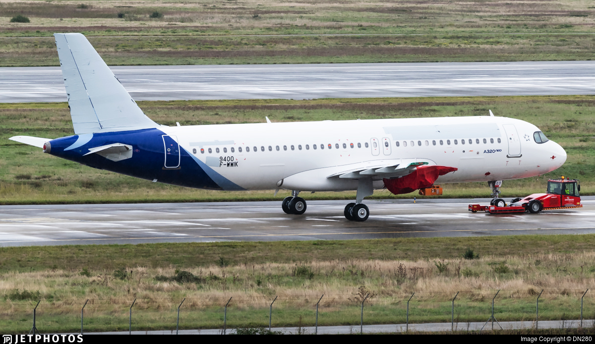 F-WWIK - Airbus A320-271N - Airbus Industrie