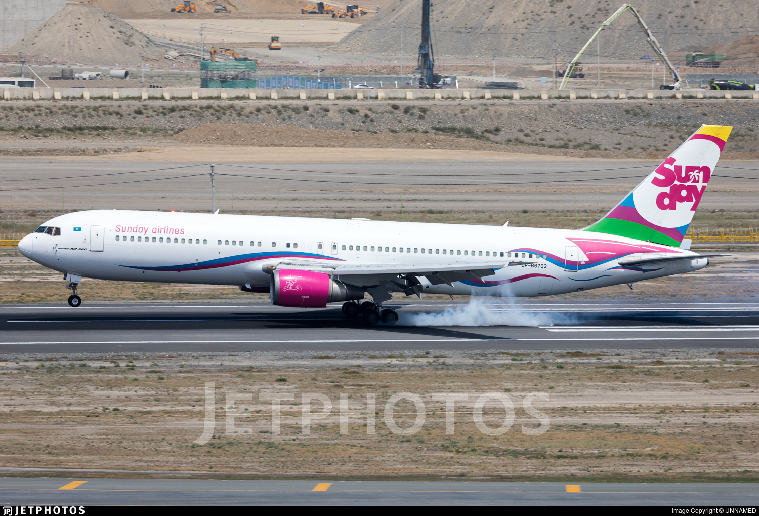 UP-B6703 - Boeing 767-332(ER) - Sunday Airlines