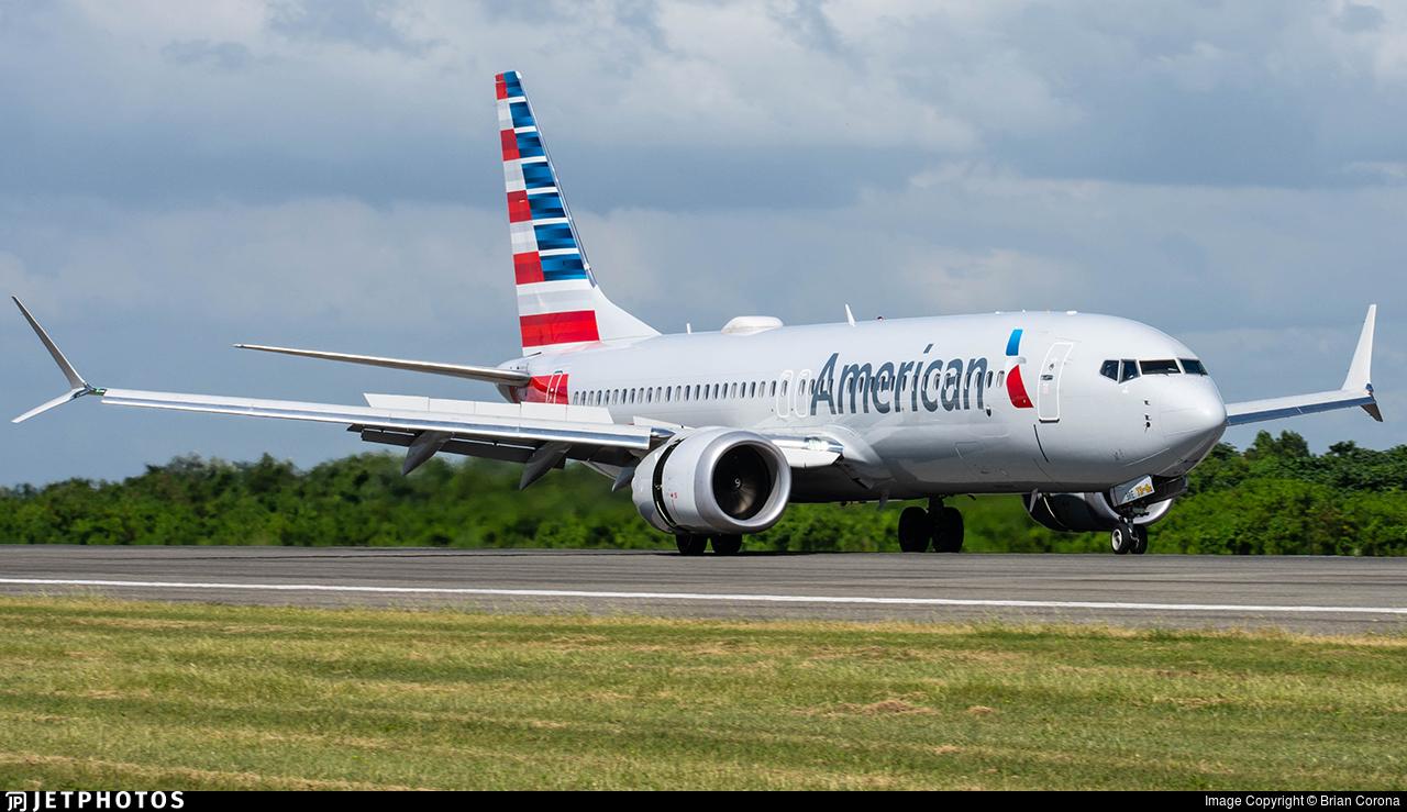 N303RE - Boeing 737-8 MAX - American Airlines