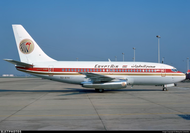 SU-AYH - Boeing 737-266(Adv) - EgyptAir