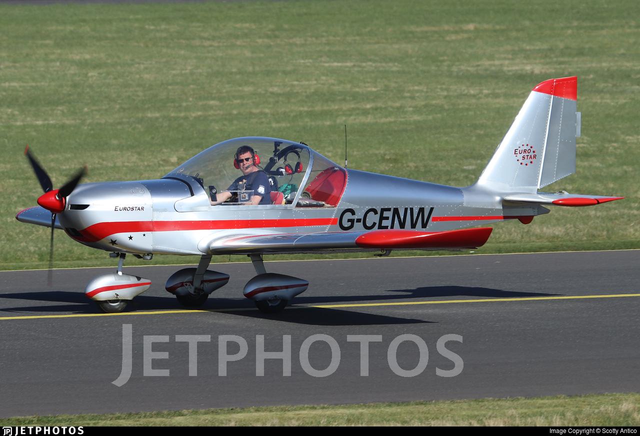 G-CENW - Evektor EV97 Eurostar - Private