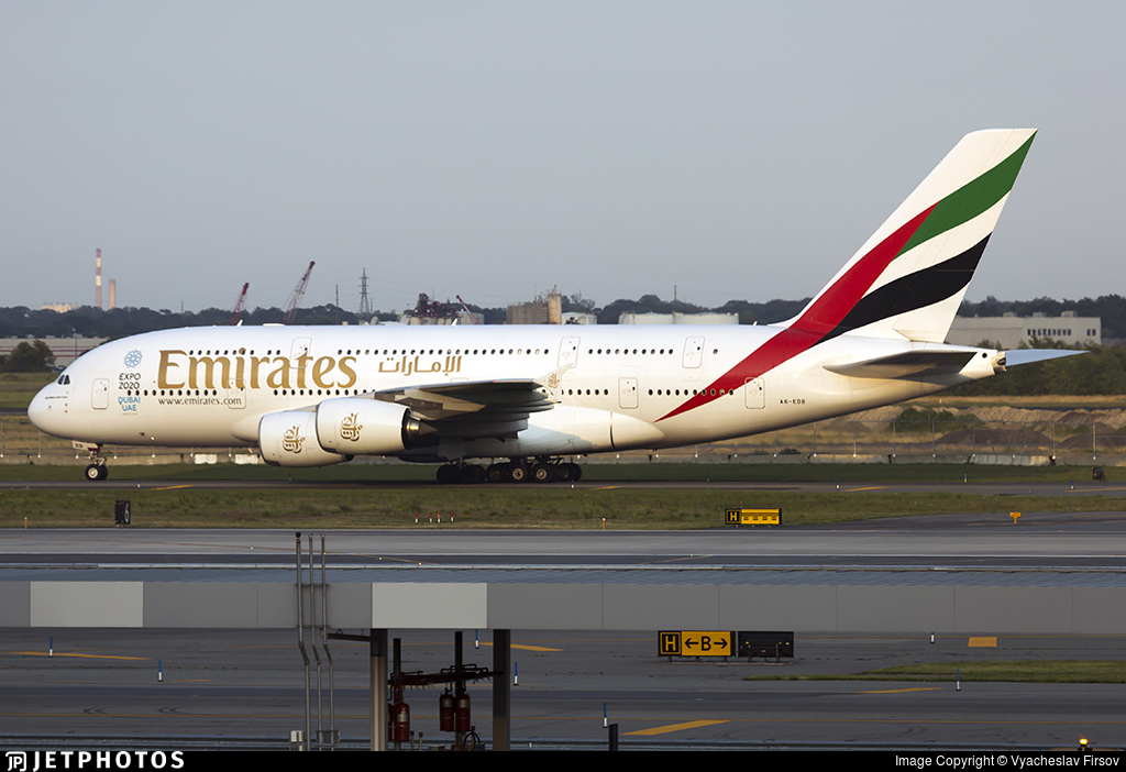 A6-EDB - Airbus A380-861 - Emirates