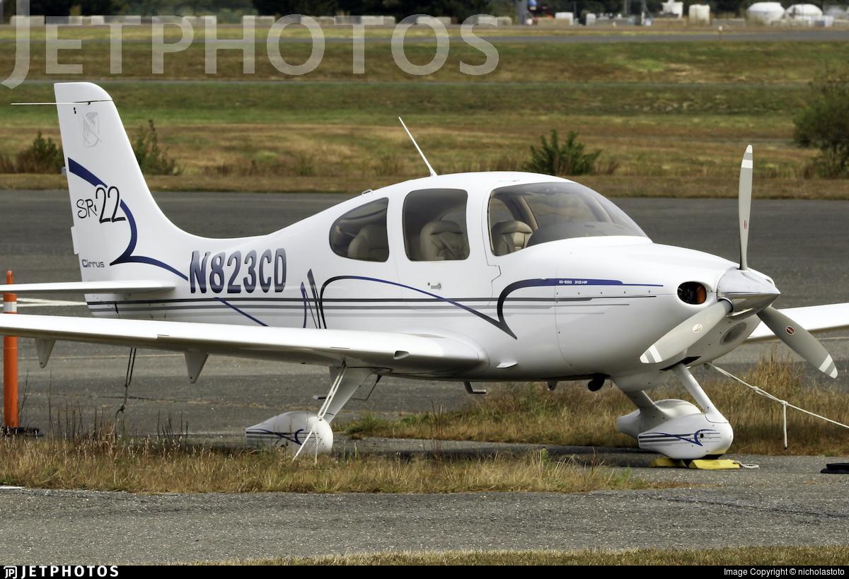N823CD - Cirrus SR22 - Private