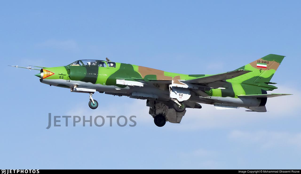 15-2462 - Sukhoi Su-22UM3K Fitter G - Iran - Revolutionary Guard