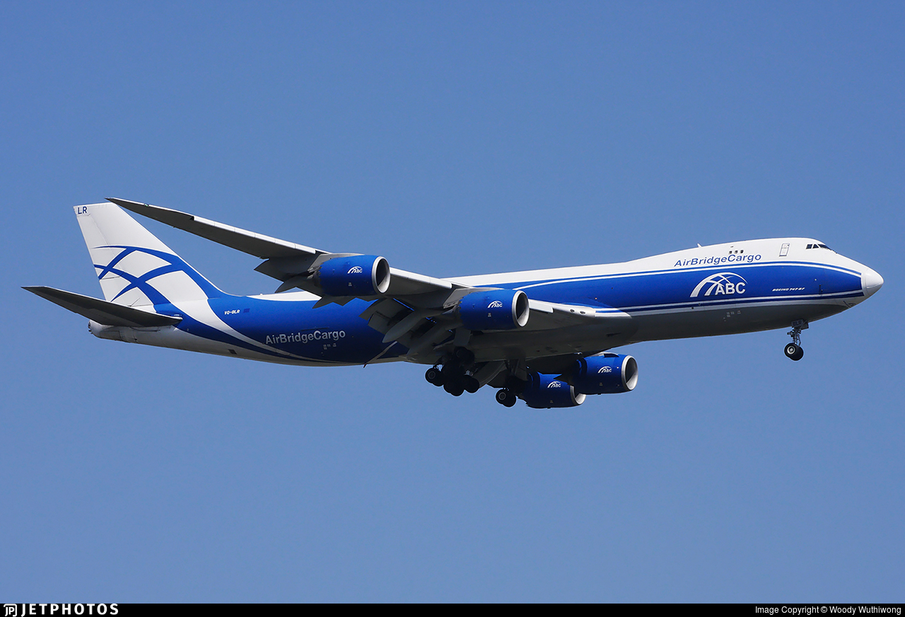 VQ-BLR - Boeing 747-8HVF - Air Bridge Cargo