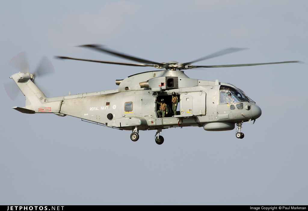 ZH845 - Agusta-Westland Merlin HM.1 - United Kingdom - Royal Navy