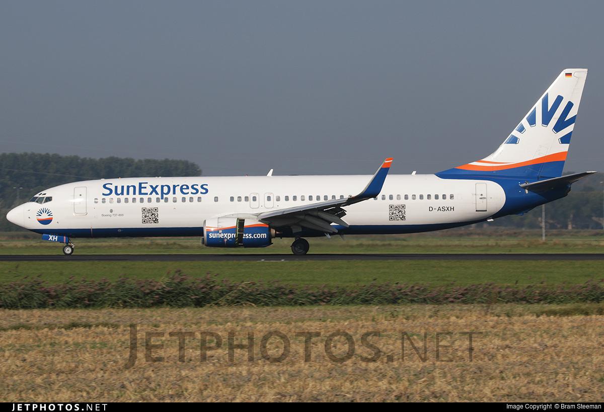 D-ASXH - Boeing 737-8CX - SunExpress Germany