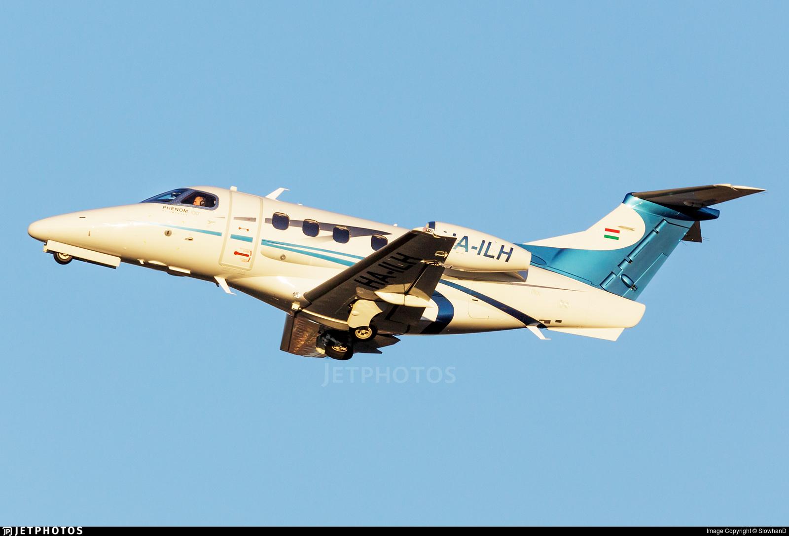 HA-ILH - Embraer 500 Phenom 100 - Private